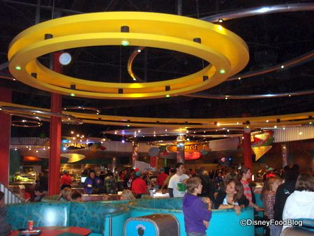 Disneyland's Redd Rockett's Pizza Port   the disney food blog