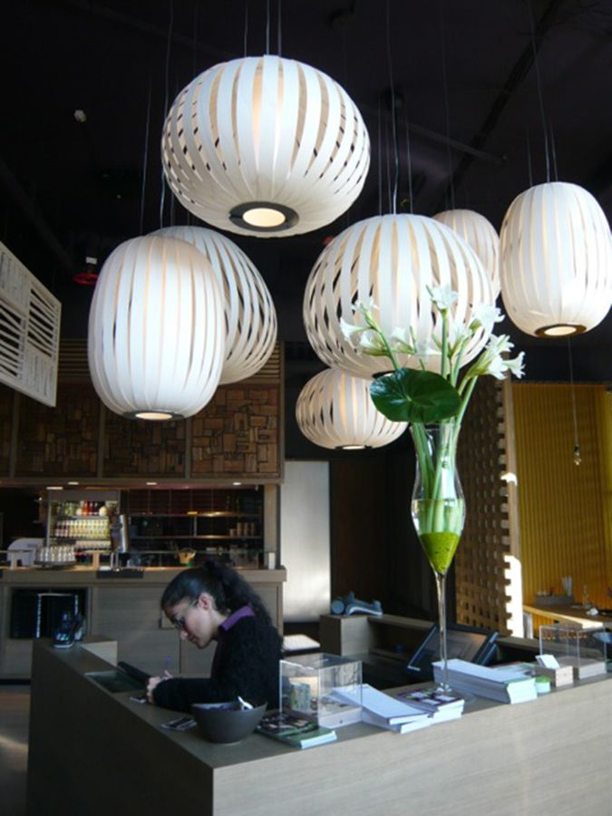 LZF LAMPS | GinYuu restaurant, Stuttgart | Wood touched by Light ...