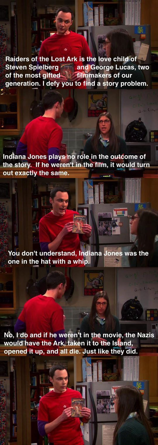 Always funny...big bang theory
