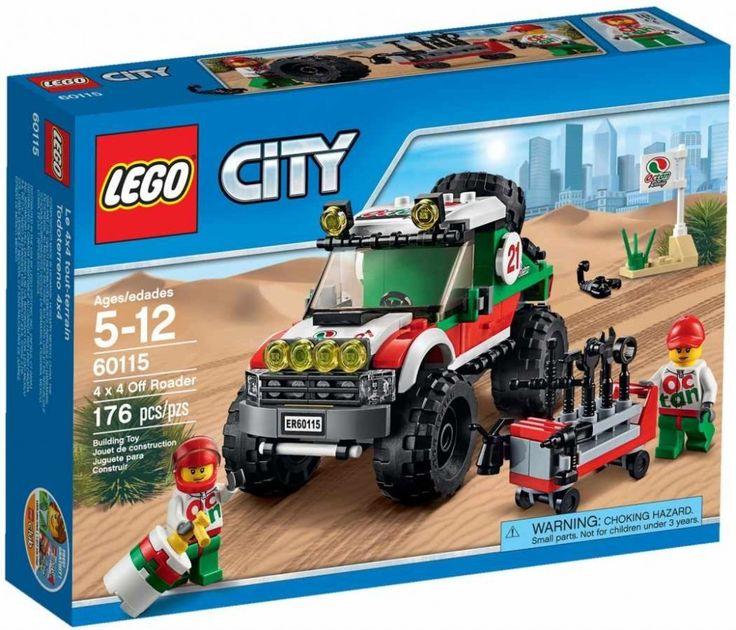 Lego City 60115 Terénní vozidlo 4x4 - 0