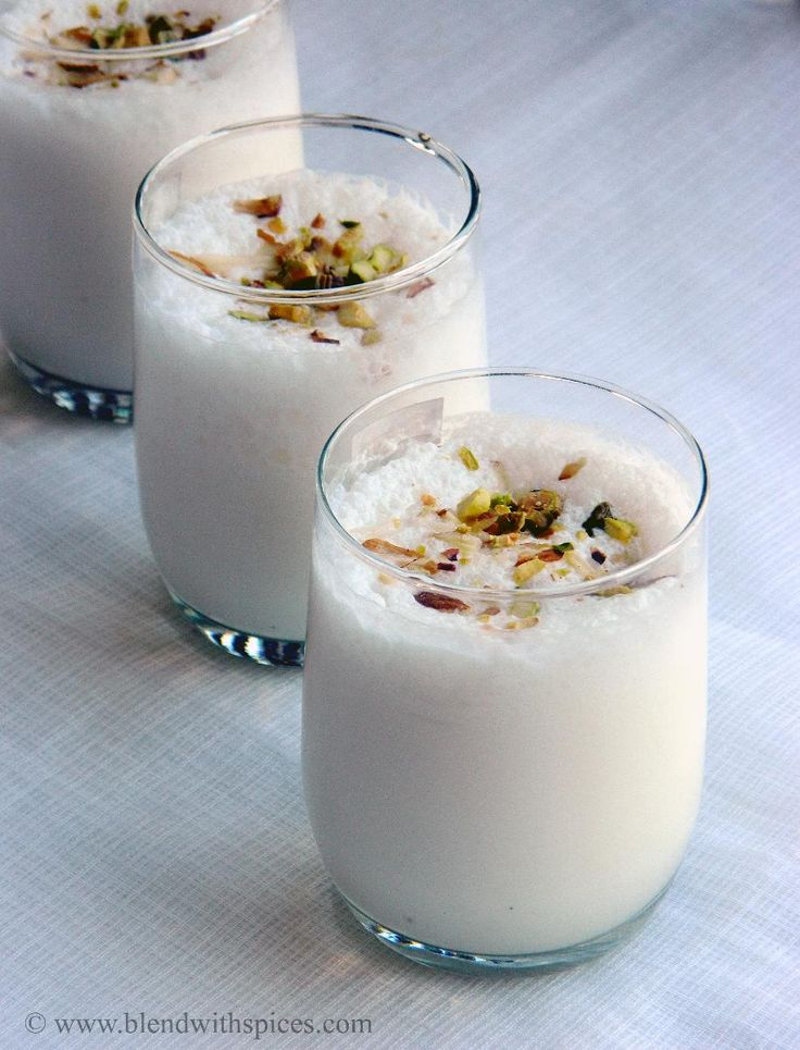 Cardamom Lassi ~ Punjabi Sweet Lassi Recipe | Indian Cuisine