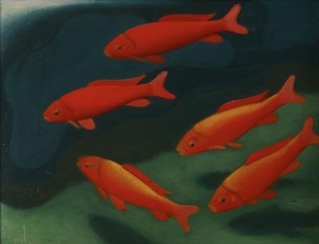 Theo Modespacher: Goldfische, 1935