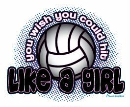 The Word Volleyball Girls | colorful volleyball graphics volleyball images with words