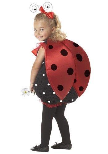 sweet lady bird toddler halloween costume ideas