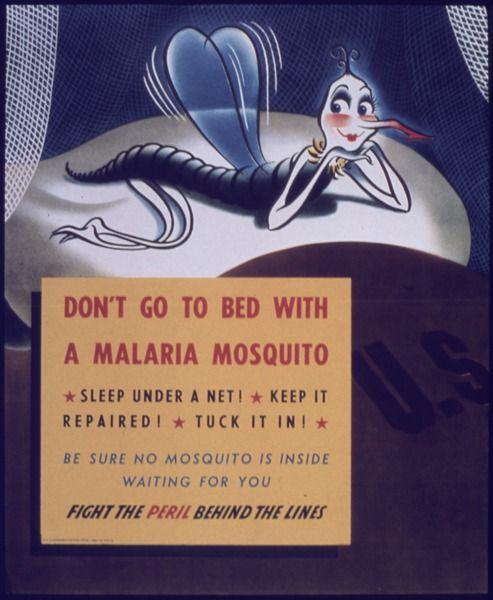 World War II Malaria Posters
