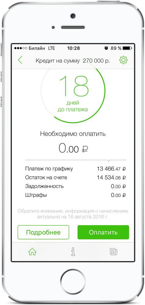 Мобильное приложение «ОТПкредит»