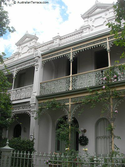 Victorian Boom Style Terraces