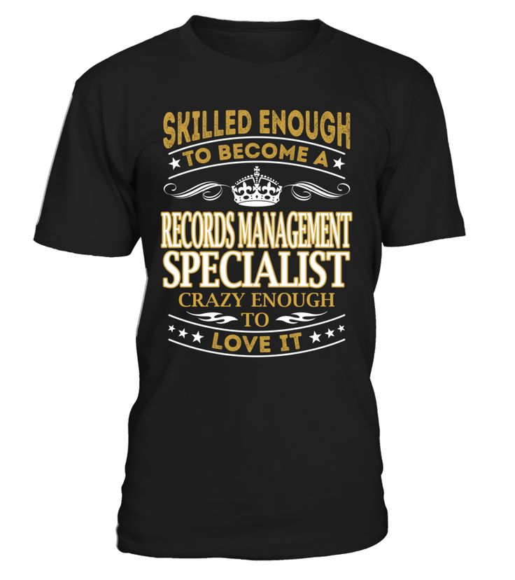 Records Management Specialist - Skilled Enough To Become #RecordsManagementSpecialist