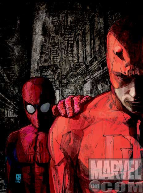 Alex Maleev. Hands down one of the best artist to work on Daredevil!