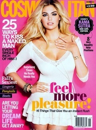 Kate Upton Cosmopolitan Cover