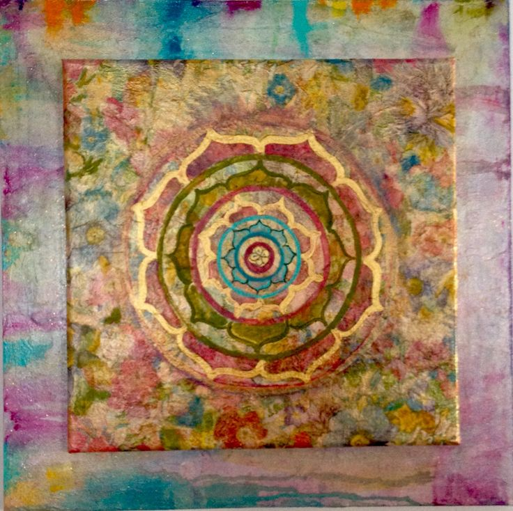 Mandala de la alegría y prosperidad