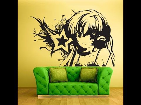 15 best Anime Wall Decals images on Pinterest | Anime stickers, Wall ...