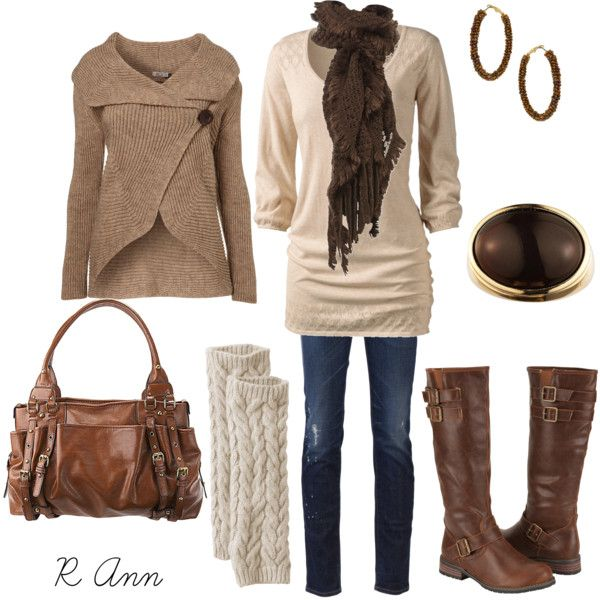 Cream and Brown :)