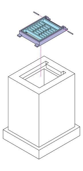 생협 - [출시예정] 빗물받이 잠금장치형 개량뚜껑(FCD)