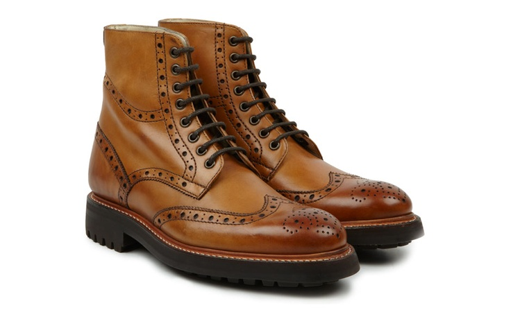 Oliver Sweeney - Lewis Tan Triple Sole GoodYear Welted Boot