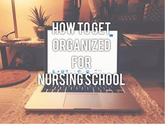 Some things to think about when going into nursing school is how to get  yourself organized. Whether this is your first or your last semester in  nursing school, you know how crazy our schedules can get so it is really  important for you to get organized and stay on top of things. Hey, lets get  started!  Let's talk about how get organized for LECTURE and CLINICAL! And then we  can discuss how to get organized for both. Please be mindful that anything  tips suggested are just advice. People…
