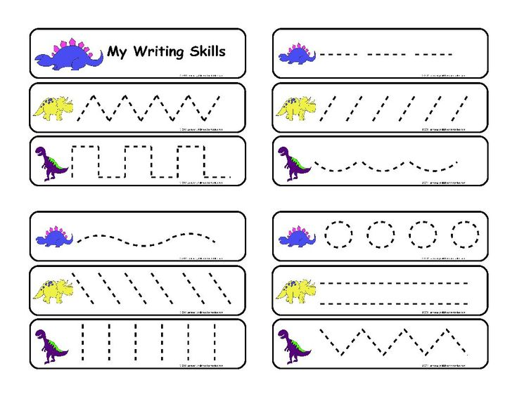printables pre writing | Pre-Writing Skills : Zans Early Childhood Printables, Make Learning ...