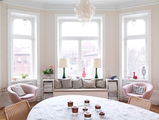 bay window: Wall Colors, Dining Rooms, Living Rooms, Soft Colors, Paintings Colors, Colors Palettes, Guest Rooms, Window Seats, Bays Window