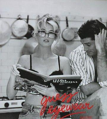 Claudia Schiffer,1989 Guess Ad Campaign