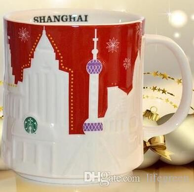 Wholesale-Coffee Mug Simplicity White Ceramic Relief Mug Cup Europe Elegant City Modeling Coffee Cup & Tea Cup Good Cups for Gift Online with $28.37/Piece on Aozhouqie's Store | DHgate.com