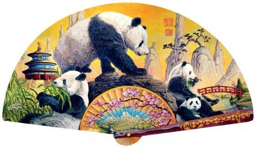 SunsOut - Joseph Burgess - Panda Elegance - Jigsaw Puzzle ...