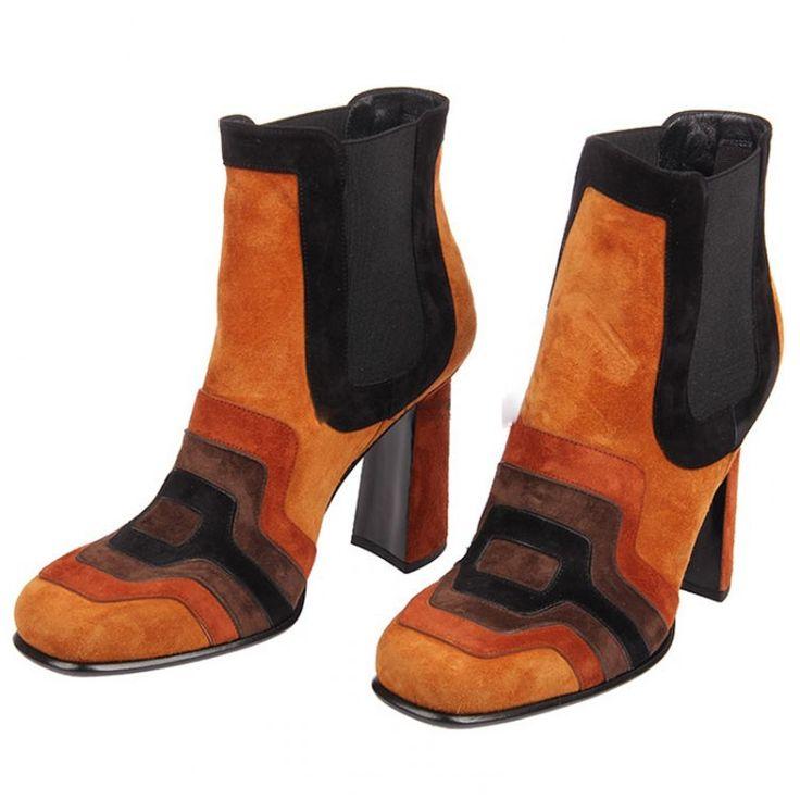 2015 новых женщин патч работа туфли на каблуках натуральная кожа wintage мотоцикл ботильоны короткая квадратная голова женская обувь