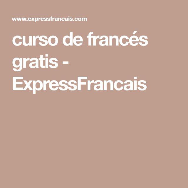 curso de francés gratis - ExpressFrancais