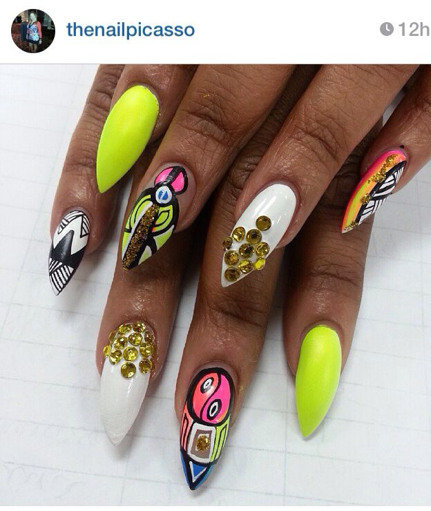 25 beautiful dope nail designs ideas on pinterest dope nails dope nail design ideas nail swag obsession nail porn addiction prinsesfo Image collections