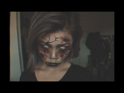 Zombie Makeup Tutorial - Easy & no special effects needed - YouTube