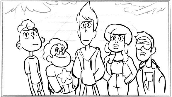 lars and the cool kids admirable animation meet