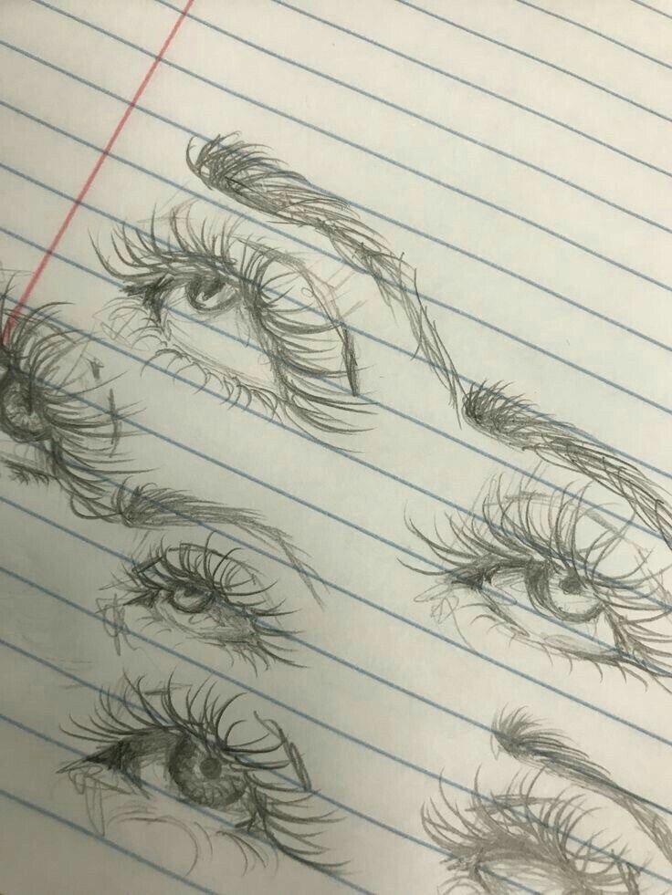 20 Amazing Eye Drawing Tutorials & Ideas –