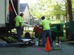 . And that's another great thing about them – their technology allows them to form the lining even if there are gaps or cracks in your existing lateral line. The machine simply bridges the gaps and fills the cracks and you end up having a sealed and leak proof lateral line. http://ussewer.com/pipe-bursting/sewer-lining/