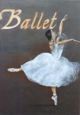 """Técnica: Pastel Seco """"Ballet"""""""