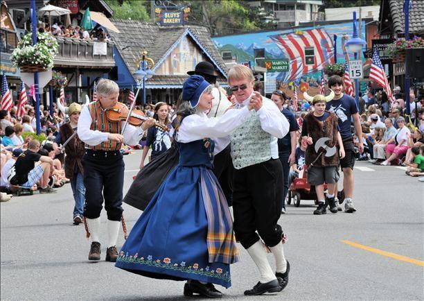 Poulsbo, Washington's Viking Fest