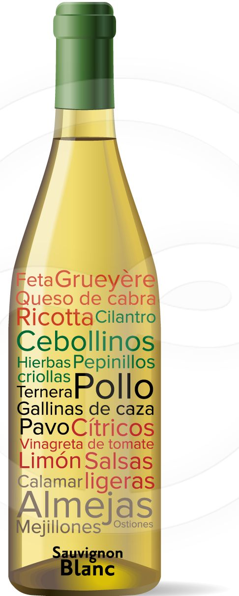 Maridaje Sauvignon Blanc #Vino                                                                                                                                                      Más