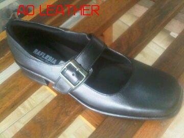 Sepatu pas kibra kulit sapi