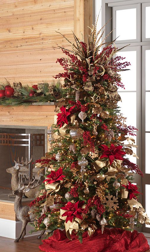 RAZ 2016 Holiday Lodge Christmas Tree  To see more items from this collection that will be available for purchase at Trendy Tree online, just click here. We are still adding new products that will start arriving Summer 2016.  http://www.trendytree.com/raz-christmas-and-halloween-decor/2016-holiday-lodge-1.html