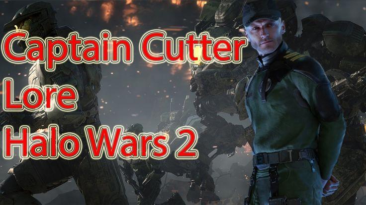 Captain Cutter Lore | Halo Wars Universe