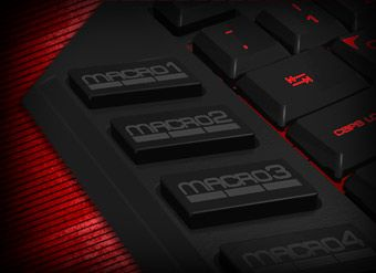 Blade  10 Macro Keys Easily customize your commands and abilities saving up to 50 macro keys using 5 different profiles. Hot keys, shortcuts or a whole key sequence can be easily saved.