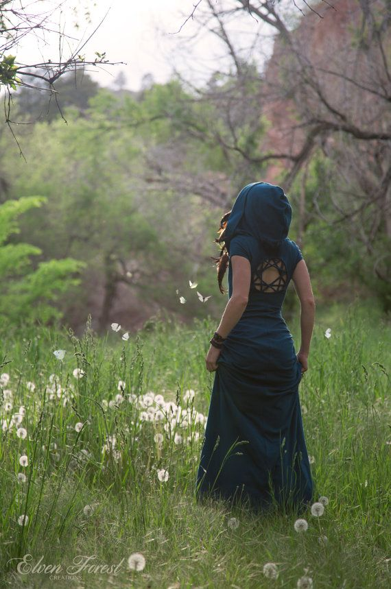 Kaleidoscope Dreamcatcher Dress ~ Casual Version ~ Elven Forest, Gypsy dress…