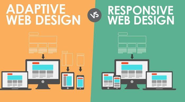 Responsive Or Adaptive Web Design The Choice For E Commerce Store Web Design Responsive Web Design Web Design Tips