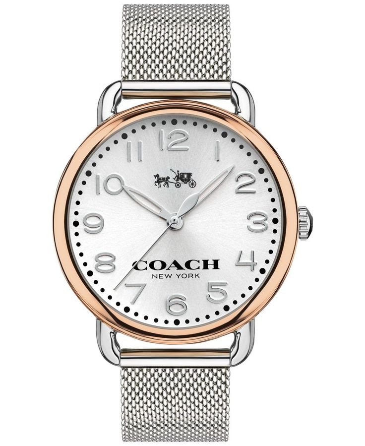 This is the link to Macy's website. Here it is on the Coach website (same price): http://www.coach.com/coach-designer-watches-delancey-two-toned-mesh-bracelet-watch/W1409.html?cgid=women-watches&dwvar_size=WMN&dwvar_color=TT This watch is expensive, i just like the way it looks