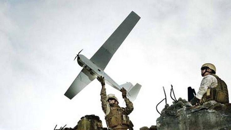 Forsvaret har siden 2014 testet droner av typen RQ-20A Puma. Foto: Aerovironment