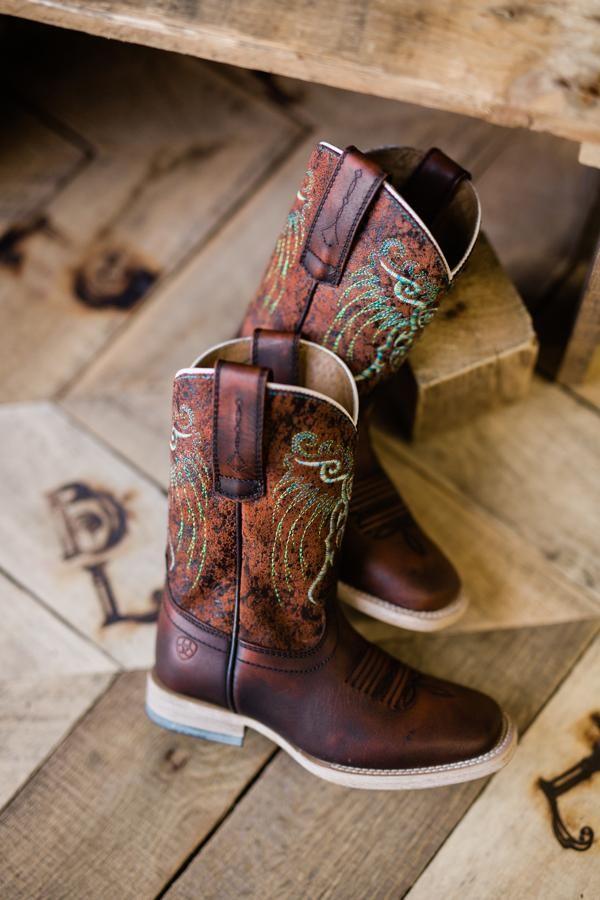 197c6d4b3a3 Ariat Mesteño Boots [Kid's] | Itty Bitty Boots ➴ Little Roots ...