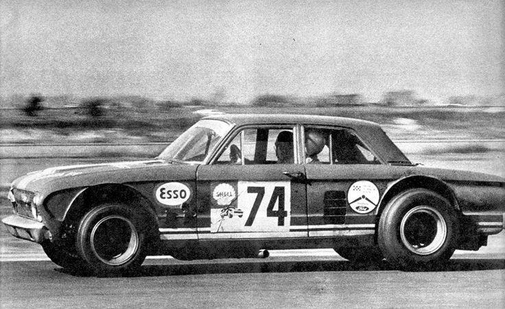 "1968 Carlos Reutemann, Ford Falcon TC ""Angostado"" F100 V8 300HP a 6500RPM 4.000cm3 10,5:1"
