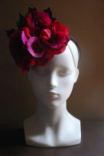 Valentine by FINKAMENDOCINO #millinery #hats #HatAcademy