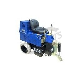 National 7700 Panther Stripper All Day Battery Ride-On Floor Removal Machine