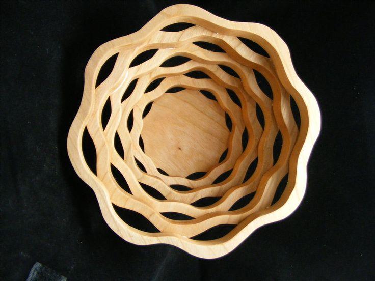 scroll saw projects | Scroll Saw Bowls - by MrsN @ LumberJocks.com ~ woodworking community