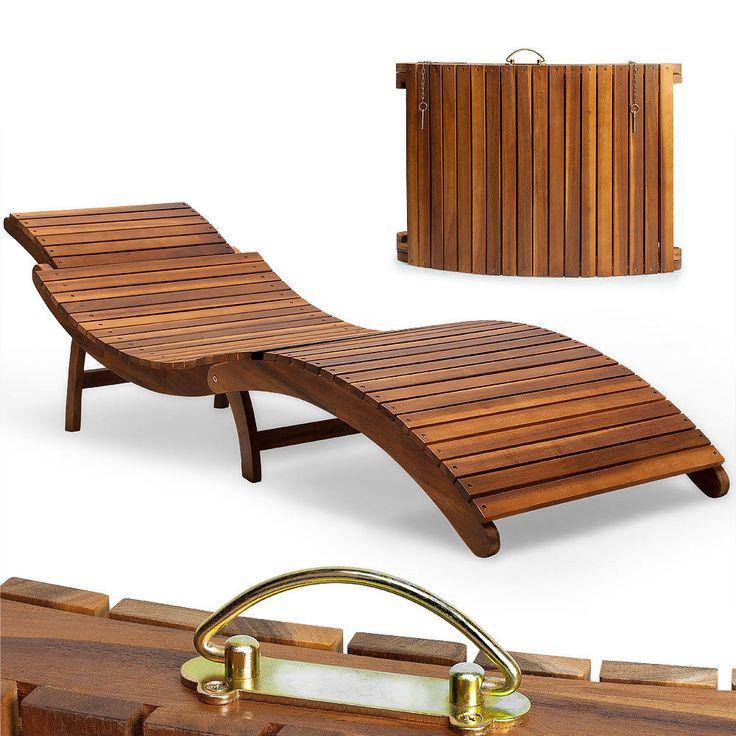 Liegestuhl Holz Mit Armlehne ~ holz liege liegestuhl gartenliege gartenmöbel mehr liegestuhl