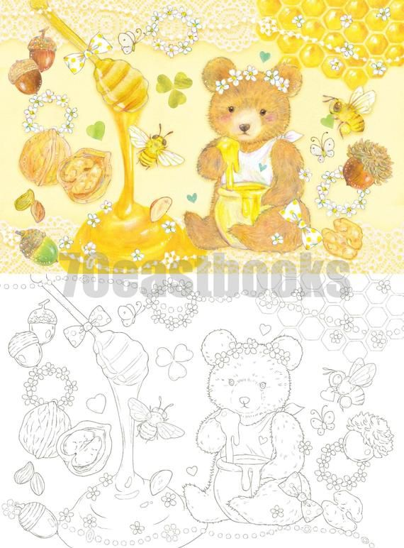 Dream Color Of 12 Months Coloring Postcards Book Colors Make Etsy Postcard Book Coloring Books Postcard